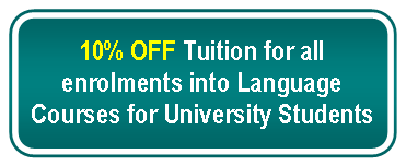 Promotion for University Students
